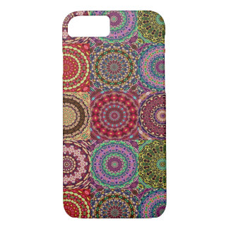 Boho Steppdecken-Kasten iPhone 8/7 Hülle