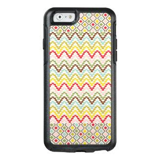 Boho Ureinwohner-Stammes- Muster OtterBox iPhone 6/6s Hülle