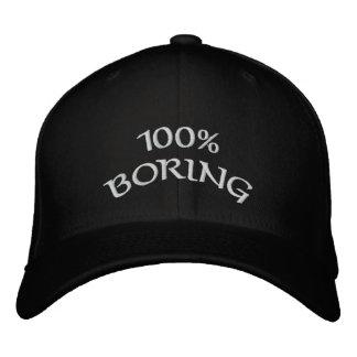 bohrendes 100% bestickte kappe