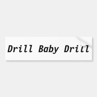 Bohrgerät-Baby-Bohrgerät Autoaufkleber
