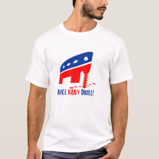 """Bohrgerät-Baby-Bohrgerät-"" Erdölbohrungs-T - T-Shirt"