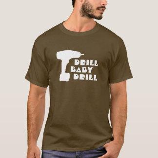 Bohrgerät-Baby-Bohrgerät-Shirt T-Shirt