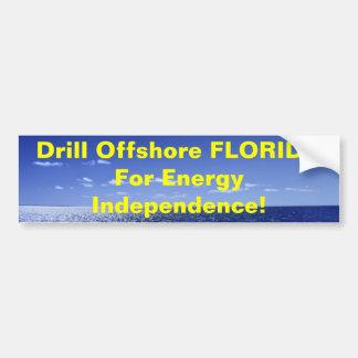 Bohrgerät Offshore-FLORIDA für Energ… Autoaufkleber