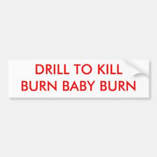 BOHRGERÄT zum KILLBURN BABY-BRAND - besonders Autoaufkleber