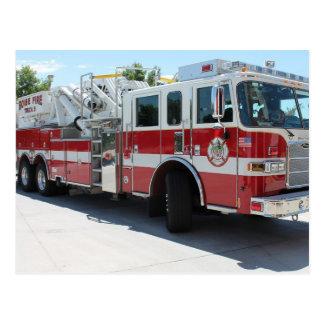 Boise-Feuerwehr-LKW 6 Postkarten