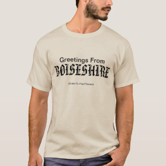 Boiseshire begrüßt Sie T-Shirt