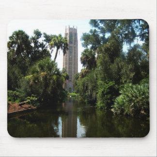 Bok Turm im See Wales Florida Mousepads