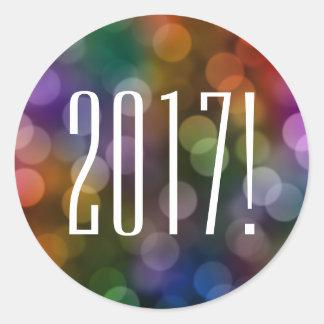 bokeh 2017 runder aufkleber