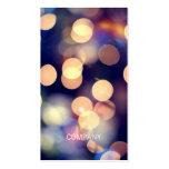 Bokeh Fotografie-Visitenkarten