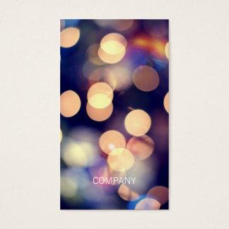 Bokeh Fotografie-Visitenkarten Visitenkarten