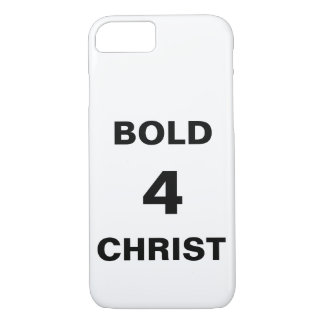 """""""Bold4Christ"""" Apple iPhone 8/7 Fall iPhone 8/7 Hülle"""