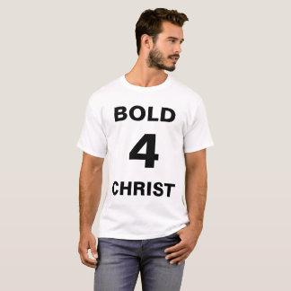 """""""Bold4Christ"""" der T - Shirt Männer"""