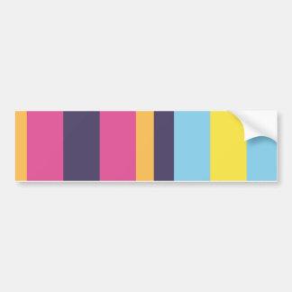 Bolivianische Streifen Autoaufkleber