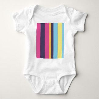 Bolivianische Streifen Baby Strampler