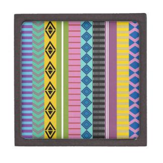 Bolivianische Streifen Kiste