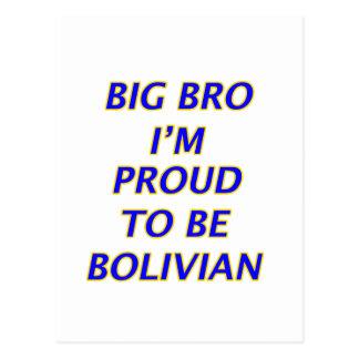 Bolivianischer Entwurf Postkarte