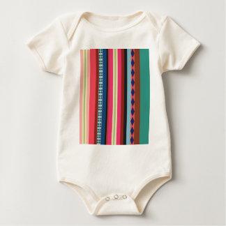 Bolivianisches Muster Baby Strampler