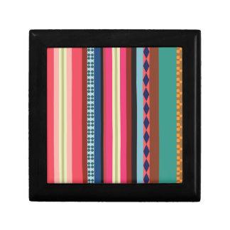 Bolivianisches Muster Geschenkbox