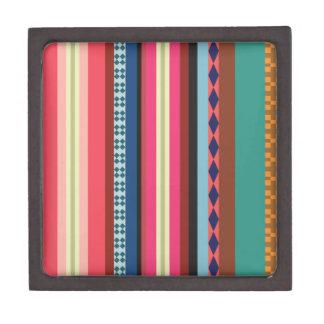 Bolivianisches Muster Schachtel