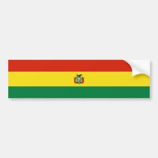 Bolivien/bolivianische Flagge Autoaufkleber