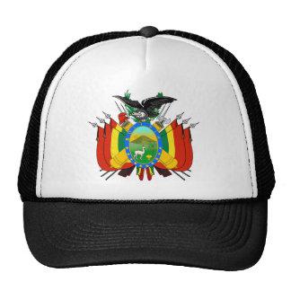 Bolivien-Emblem Retrokultkappen