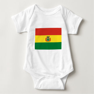 Bolivien-Flagge Baby Strampler