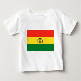 Bolivien-Flagge Baby T-shirt