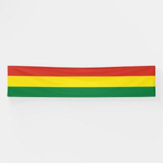 Bolivien-Flagge Banner