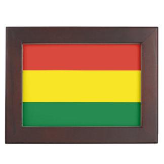 Bolivien-Flagge Erinnerungsdose