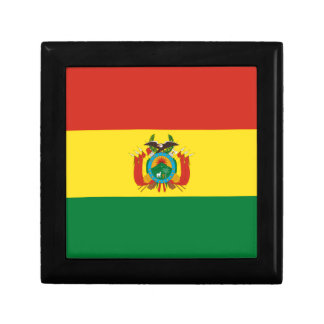 Bolivien-Flagge Geschenkbox