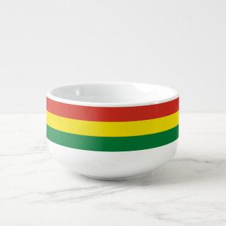 Bolivien-Flagge Große Suppentasse