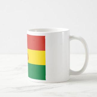 Bolivien-Flagge Kaffeetasse