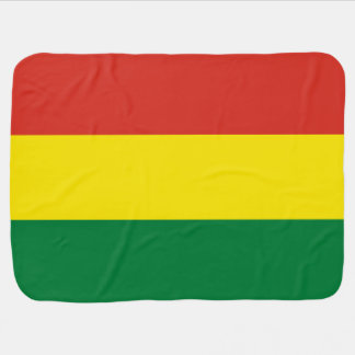 Bolivien-Flagge Kinderwagendecke