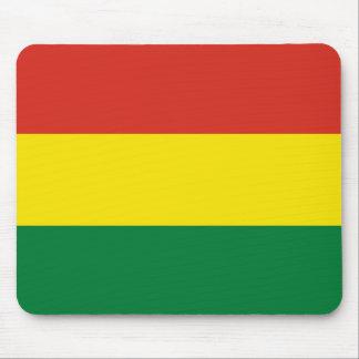 Bolivien-Flagge Mousepad