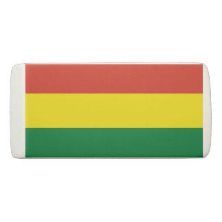 Bolivien-Flagge Radiergummi