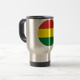 Bolivien-Flagge Reisebecher
