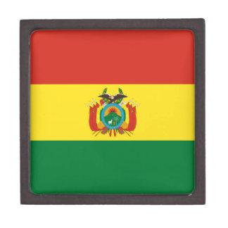 Bolivien-Flagge Schmuckkiste