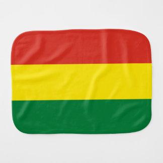 Bolivien-Flagge Spucktuch
