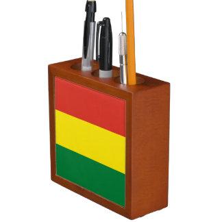 Bolivien-Flagge Stifthalter