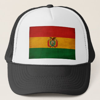 Bolivien-Flagge Truckerkappe