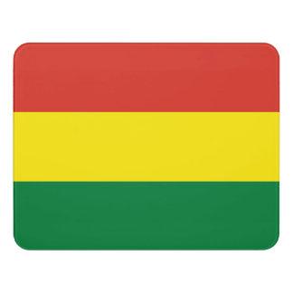 Bolivien-Flagge Türschild