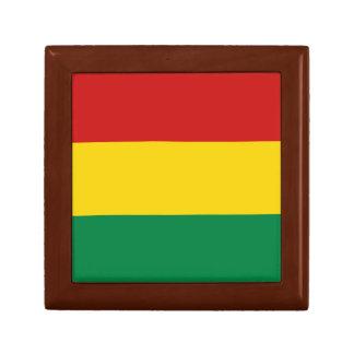 Bolivien-Flaggen-Geschenkboxen Schmuckschachtel