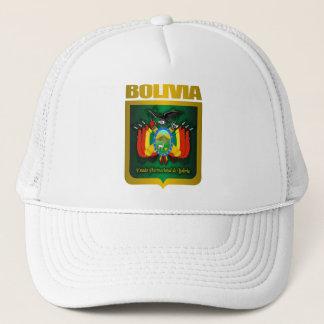 """Bolivien-Gold "" Truckerkappe"