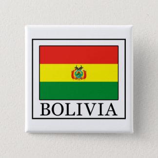 Bolivien-Knopf Quadratischer Button 5,1 Cm