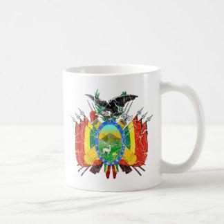 Bolivien-Wappen Kaffeetasse