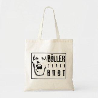 Böller statt Brot ! Budget Stoffbeutel
