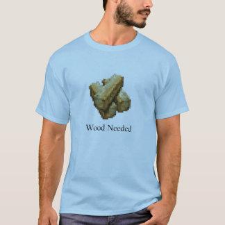 Bollwerk - hölzernes erforderliches - hellblau T-Shirt