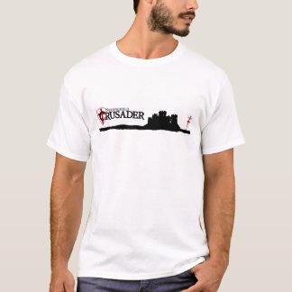 Bollwerks-Kreuzfahrer - Logo - Weiß T-Shirt