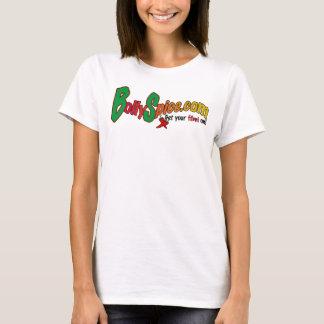 Bollyspice.com - besonders angefertigt T-Shirt