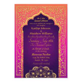 Bollywood arabische Nächte, die Einladung Wedding